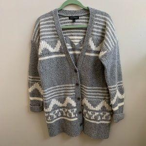 Banana Republic wool blend cardigan sweater L